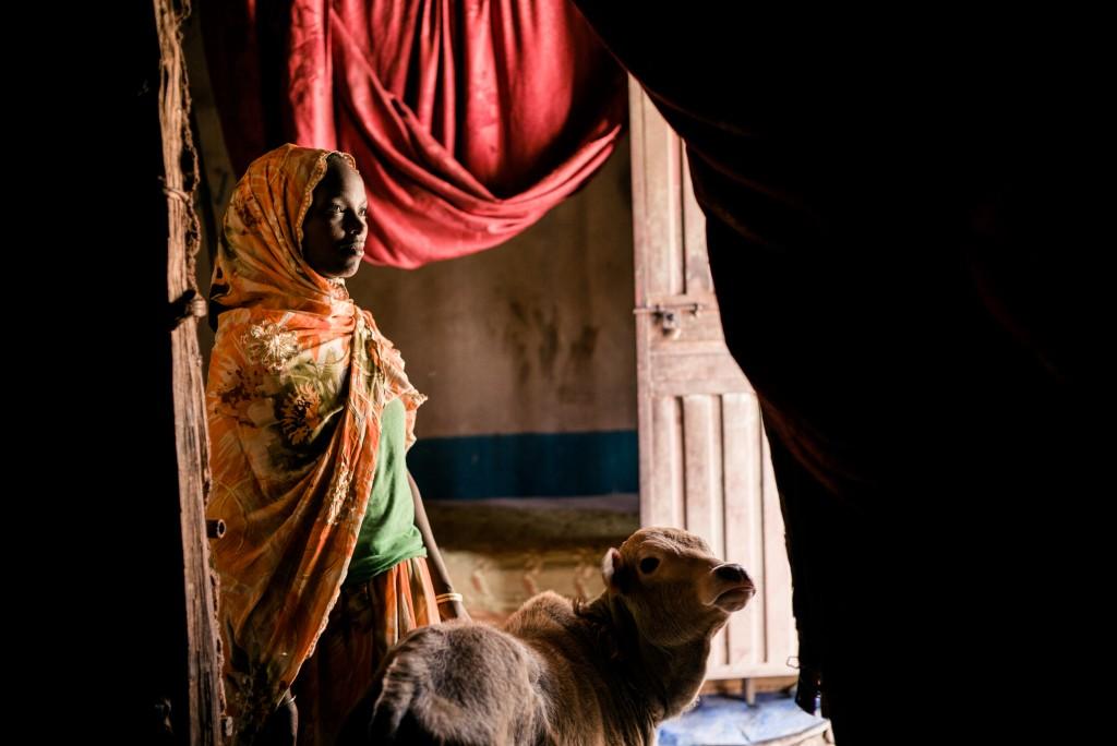 Reportage en Ethiopie sur la sŽcuritŽ alimentaire. Extreme Est du pays. Sud de Dire Dawa VallŽe ou les femmes font une gestion commune pour des prts d'argents en cas de besoin © Lionel Charrier / M.Y.O.P.