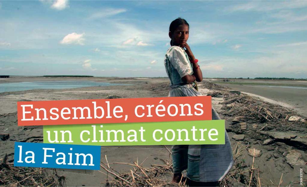 Ensemble, créons un climat contre la faim
