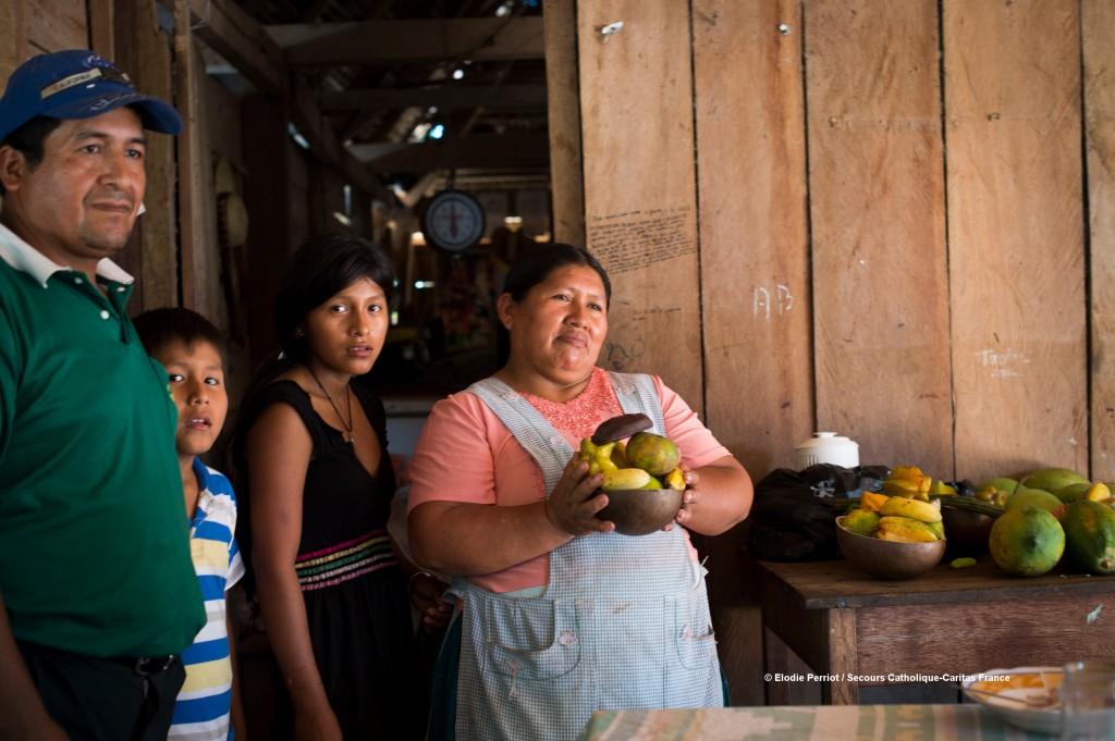 En Bolivie, le système agroforestier instauré par Cipca permet le développement d'une agriculture paysanne familiale et diversifiée comme solution concrète de lutte contre le changement climatique. Les populations amazoniennes ont ainsi accès à une alimentation saine et variée.