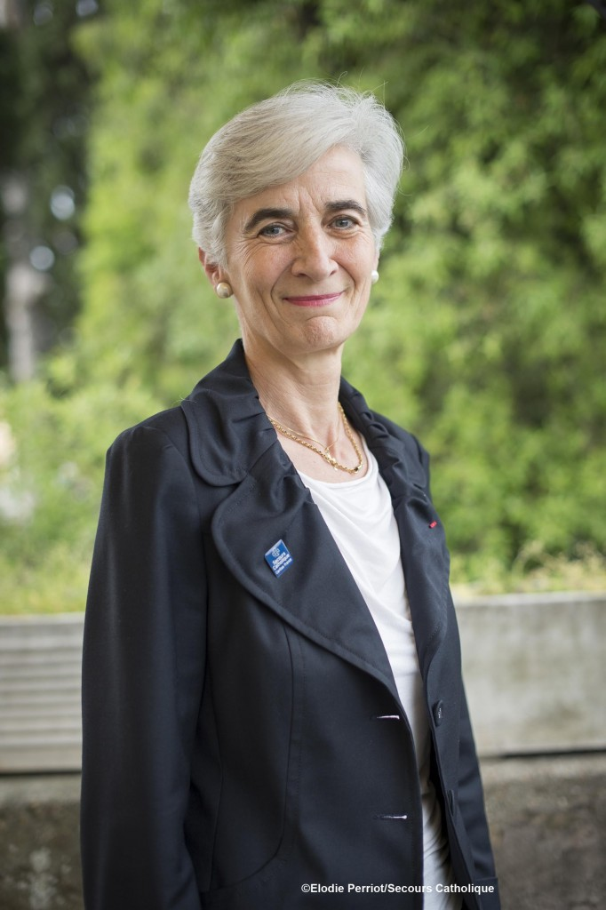 Véronique Fayet Présidente du Secours Catholique