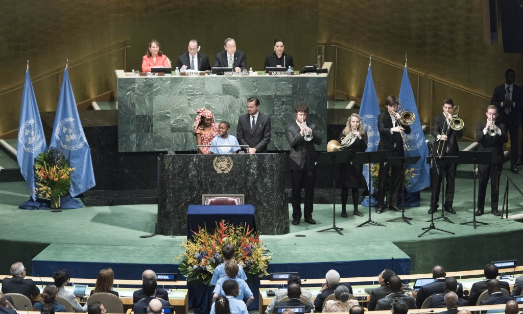 Climate Opening UN Photo/Mark Garten