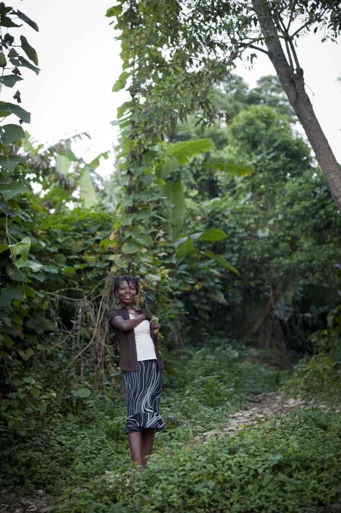 Haïti, Octobre 2012, habitants des Palmes, zone particulièrement isolée et montagnarde
